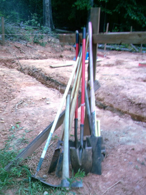 Ditch digging tools