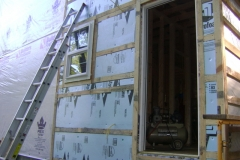Cabin-east-side-insulation
